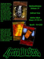 NecroMasters - Attacking and Power Cards by PlayboyVampire
