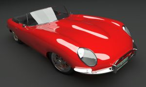 Jaguar E-Type 1961 Scene 4a by AnalyzerCro
