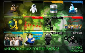 Android Glass Folder Icons 03 by fandvd