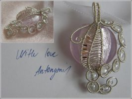 With love pendant by Antonymi1 by Antonymi1