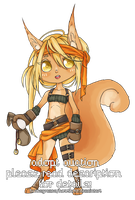 [CLOSED] MMO Class Anthro ~ Squirrel [$] by hoothoo