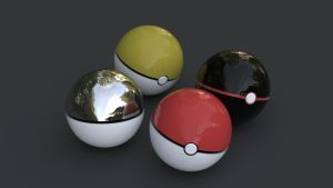Pokeball Colour by b1gdan