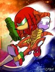Metroid Knuckles by fugushima