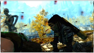 Orc Warrior - Axe Attack - Skyrim by Jace-Lethecus