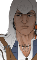 Connor Closeup by Uccan