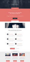 Escape Velocity - A Free Responsive Site Template by nodethirtythree