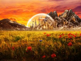 Gallifrey by YlianaKapella-Neidon