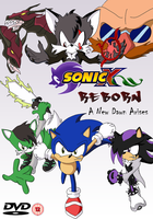 Fake DVD Cover: Sonic X Reborn by SilverWolfGal1