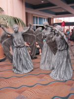 The Weeping Angels 2 by Verlerious