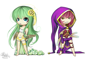 .:Commission Chibi Examples:. by Gabbybites