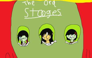The three stooges of Middle Earth by Liepardmon555