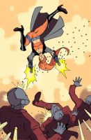 Nextwave pinup by TCSmith