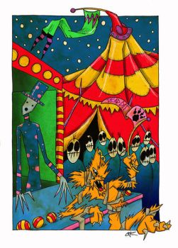 Dead Cats SideShow by gakart