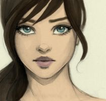 Girl by Fic-OneP