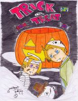 Hetaween ~Trick or treat by Coldheart91