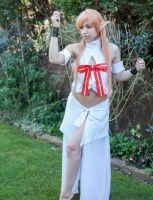 Asuna cosplay nearly complete by Elfsire