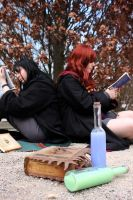Books and Potions by Des-Henkers-Braut
