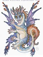 Fairy Dragon by darknatasha