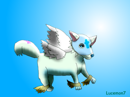 Lucemon God or Christ Mode by JackFrost-LCDA