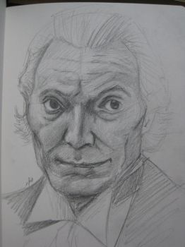 WIP: William Hartnell (First Doctor) by thewaterproofrobot