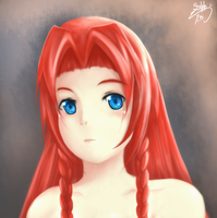 :Hong Meiling: by sylphan