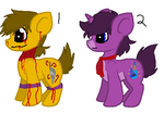 fnafs pony adopt 3 by theWolfdragon21