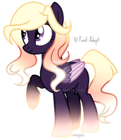 70 Point Dusk Themed Pony Adopt | CLOSED | by fluffyfluffx