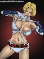 Power Girl Ripped by powerbook125