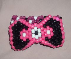 Pink X base with bow by ninjalove134
