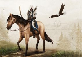ACIII: Riders - Connor by Jenova87