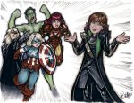 Avengers Family NYCC 2012 by ComfortLove