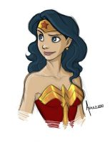 WONDER WOMAN SKETCH by avilez