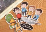 Star Trek Stickers by LonelyFullMoon