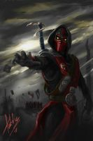 Ermac by TeddyDxC