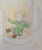 Germans und beer-Request by Kurofan4ever
