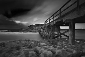 Clouded Bridge by MarkLucey