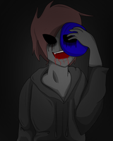 Behind the Blue Mask by charliethemew012