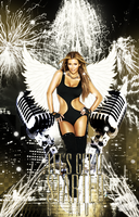 Kim Kardashian Let's Get It Starded Flyer by Anuya