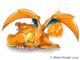 Charizard... by Photo-Freak7