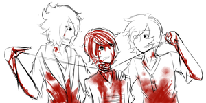 Subsk3tchthan | Calling Bloody Murder by CaeruliaAutumnale