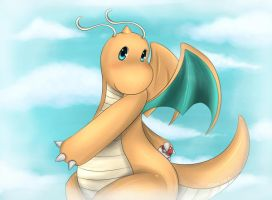 PKMN-Dragonite by Chao-Illustrations