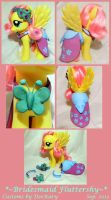 Bridesmaid FS Fluttershy by DeeKary