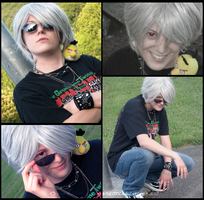 Hetalia Cosplay-Casual Prussia by Anime-Kat2002