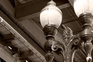 Street Lamps Chicago by MariahLynnDesign