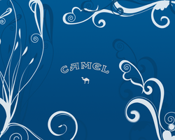 Camel Blue Wallpaper by GeekGod4