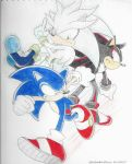 Sonic, Shadow, and Silver by silvershadowultimate