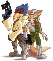 some star fox by Mast3r-sword