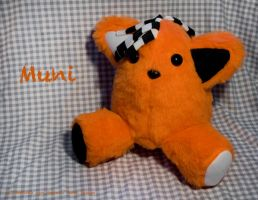 PUNKitty Muni Plush by IskaDesign
