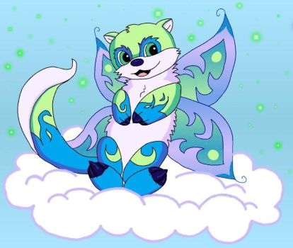 Neopets Faerie Lutari by iristigress
