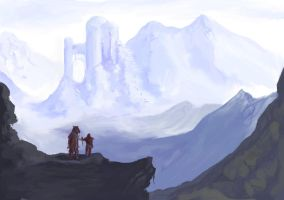 Mountain Study 3 by frostbitedude